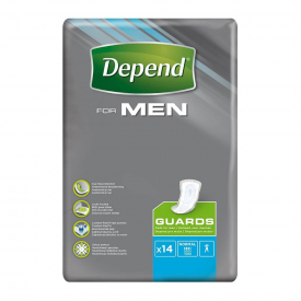 Depend For Men Guards - Normal x 14