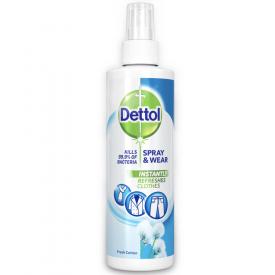 Dettol Spray & Wear Fresh Cotton - 250ml