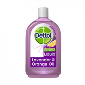Dettol Antiseptic Disinfectant Liquid Lavender & Orange Oil - 500ml