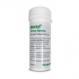 Dioctyl 100mg Capsules - Pack of 100