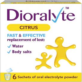 Dioralyte Citrus 4g – 6 Sachets