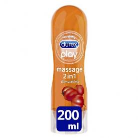 Durex Play Massage 2-in-1 Guarana Lube - 200ml