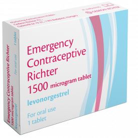 Emergency Contraceptive Richter 1500Mcg Tablet
