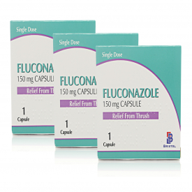 Fluconazole Thrush Relief 150mg Single Dose Capsule - Pack of 3