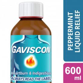 Gaviscon Original Liquid Peppermint – 600ml