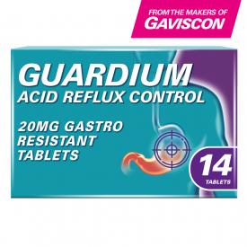 Guardium Esomeprazole Acid Reflux Control - 14 Tablets
