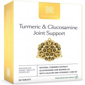 Healthspan Turmeric & Glucosamine Joint Support - 60 Capsules