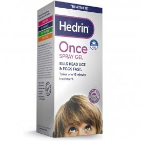 Hedrin Once Spray Gel - 100ml