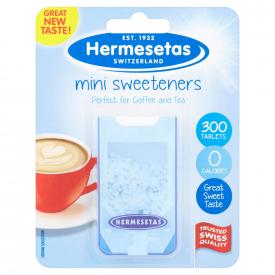Hermesetas Mini Sweeteners 300 Tablets