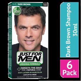 Just For Men Shampoo Hair Colourant Dark Brown  - (Case Of 6)