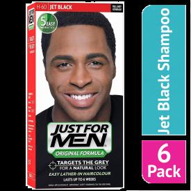 Just For Men Shampoo Hair Colourant Jet Black - (Case Of 6)