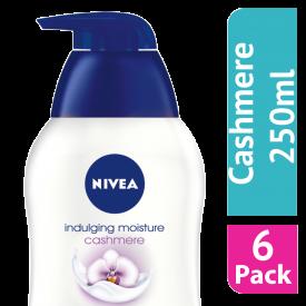Nivea Indulgent Moisture Cashmere Soap 250ml - (Case Of 6)