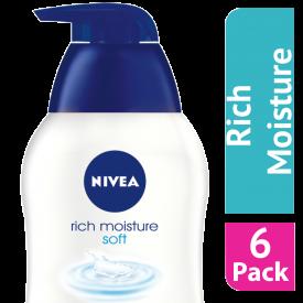 Nivea Hand Wash Creme Soft Liquid Hand Wash 250ml - (Case Of 6)