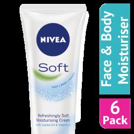 Nivea Refreshingly Soft Moisturising Cream 75ml - (Case Of 6)