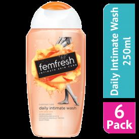 Femfresh Daily Hygiene Intimate Wash 250ml (Case Of 6)