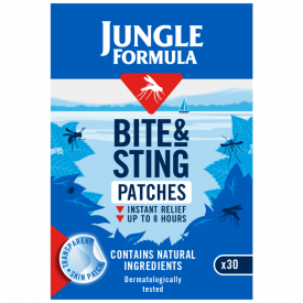 Jungle Formula Bite & Sting Relief Patches - 30 Patches