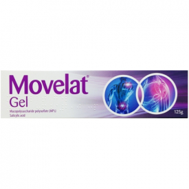 Movelat Pain Relief Gel - 125g