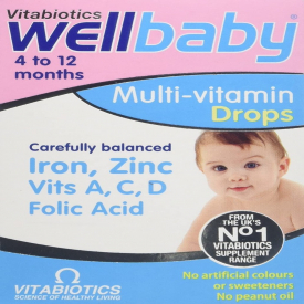 Vitabiotics Wellbaby Multi-Vitamin Drops - 30ml