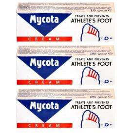 Mycota Athlete's Foot Cream 25g - Pack Of 3
