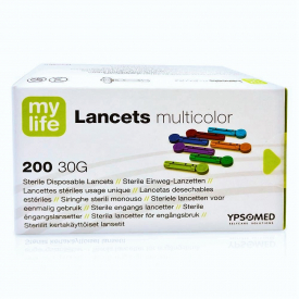 Mylife 30g Lancets Multicolour 200 Lancets