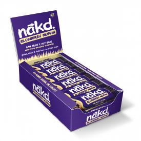 Nakd Blueberry Muffin Bar 35g - Pack of 18