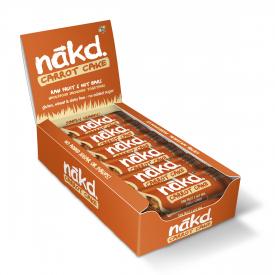 Nakd Carrot Cake Bar 35g - Pack of 18