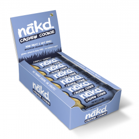 Nakd Cashew Cookie Bar 35g - Pack of 18