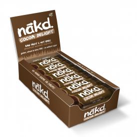 Nakd Cocoa Delight Bar 35g - Pack of 18