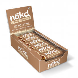 Nakd Coffee & Walnut Bar 35g - Pack of 18
