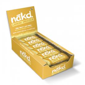 Nakd Lemon Drizzle Bar 35g - Pack of 18