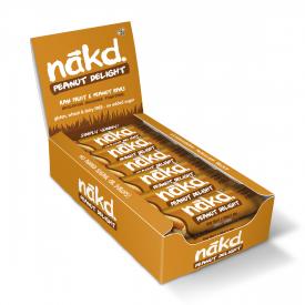 Nakd Peanut Delight Bar 35g - Pack of 18