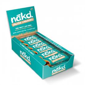Nakd Salted Caramel Bar 35g - Pack of 18