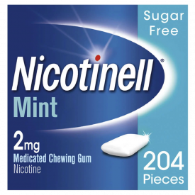 Nicotinell Mint 2mg Medicated Chewing Gum – 204 Pieces