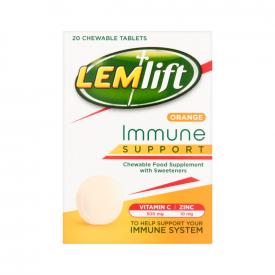 Lemsip Lemlift Immune Support Chewable Orange - 20 Tablets