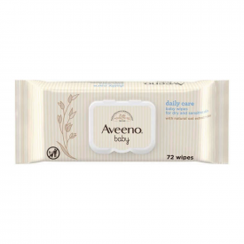 Aveeno Baby Daily Care Baby Wipes – Pack of 72 Wipes