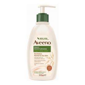 Aveeno Daily Moisturising Yogurt Body Cream Vanilla & Oat - 300ml
