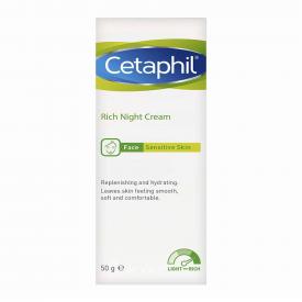 Cetaphil Rich Night Cream - 50g