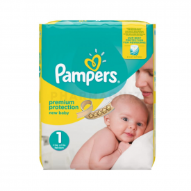 Pampers New Baby Carry Pack Size 1 22x