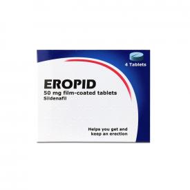Eropid Sildenafil 50mg Tablet – 4 Tablets