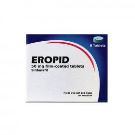 Eropid Sildenafil 50mg Tablet – 8 Tablets