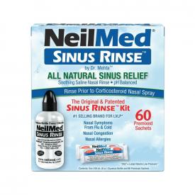 NeilMed Sinus Relief Rinse Kit - 60 Sachets