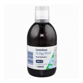 Lactulose Solution for Constipation Relief 500ml (Brand May Vary)