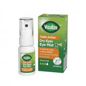 Vizulize Triple Action Dry Eye Mist – 10ml