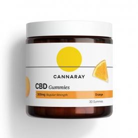 Cannaray CBD Gummies 200mg -  30 Capsules