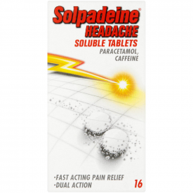 Solpadeine Headache Soluble - 16 Tablets
