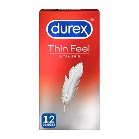 Durex Thin Feel Ultra Thin - 12 Condoms