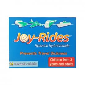 Joy Rides Travel Sickness Tablets - 12