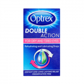 Optrex Double Action Dry & Tired Eye Drops – 10ml