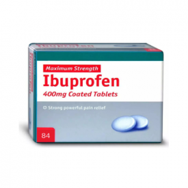 Ibuprofen - 84 x 400mg Tablets