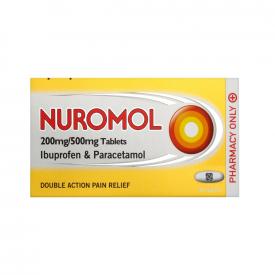 Nuromol 200mg/500mg 24 Tablets